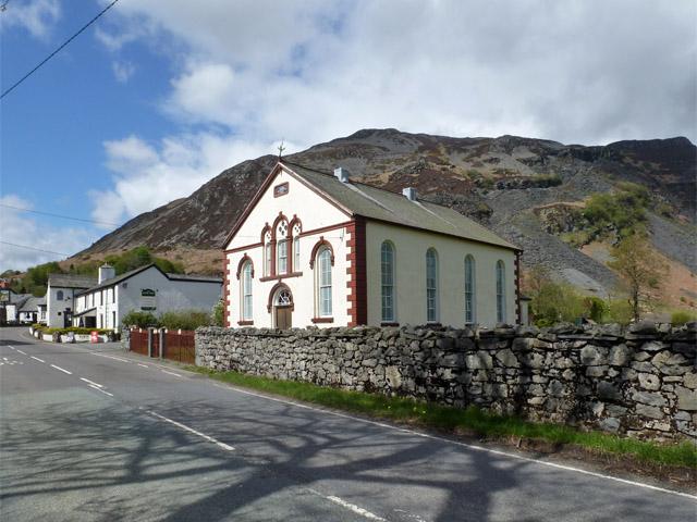 Carmel chapel, Llangynog