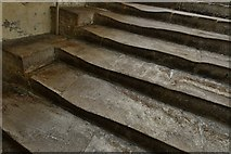 ST5545 : Wells Cathedral: The stairs leading to the Chapter House by Michael Garlick