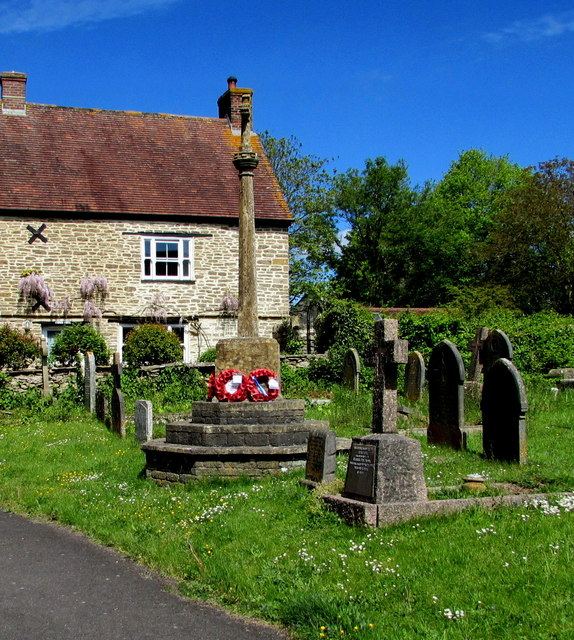 Abbas and Templecombe War Memorial Cross