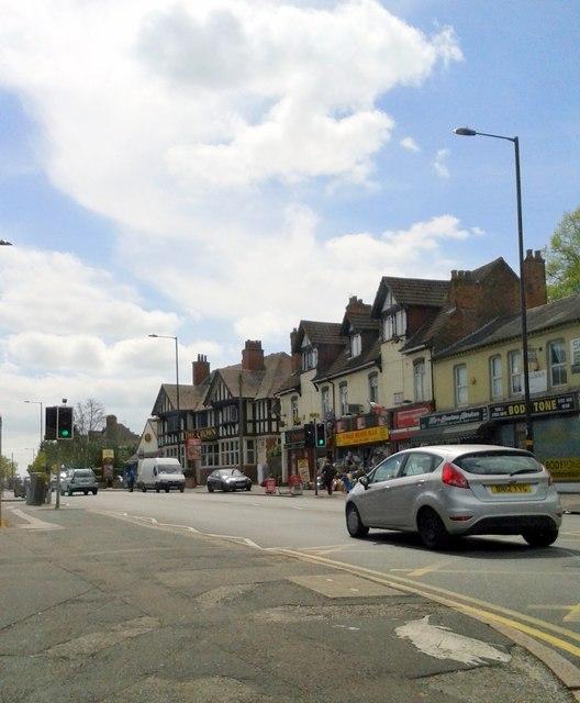 Alcester Road Alcester Lane's End Kings Heath