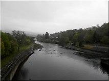 NN9357 : River Tummel from Pitlochry Dam by Douglas Nelson