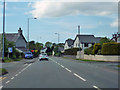 SH4962 : A4086 in outskirts of Caernarfon by Robin Webster