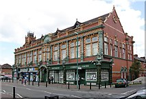 SJ8795 : Beswick Co-operative Society Building, Northmoor Road by Alan Murray-Rust