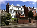 SK9771 : Houses in Yarborough Road, Lincoln by Brian Westlake