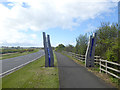 NU2504 : Cycle path from Amble to Warkworth by Oliver Dixon