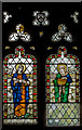 SK8810 : Stained glass window, Holy Cross church, Burley by Julian P Guffogg