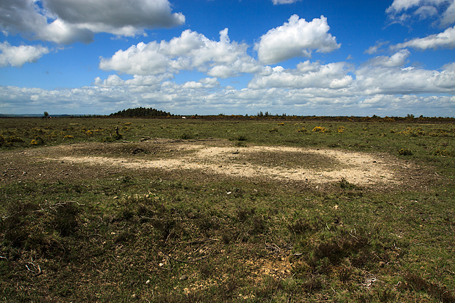(4a) A tour of the WWII Ashley Walk Bombing Range - A & B Fragmentation Target