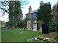 NY3250 : St Andrew, Thursby: churchyard (b) by Basher Eyre