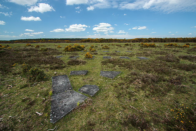 (17b) A tour of the WWII Ashley Walk Bombing Range - site of North Tower