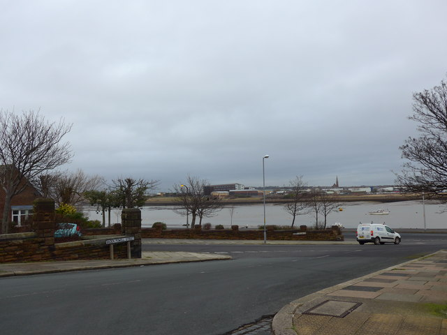 Approaching the junction of Baden Powell Street and The Promenade