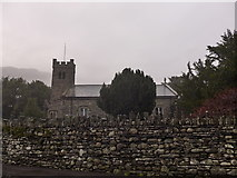 SD3097 : St Andrew, Coniston: mid February 2015 by Basher Eyre