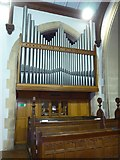 SD3097 : St Andrew, Coniston: organ by Basher Eyre