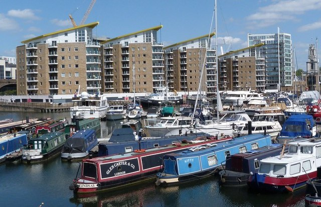 Limehouse Basin Marina, London E14
