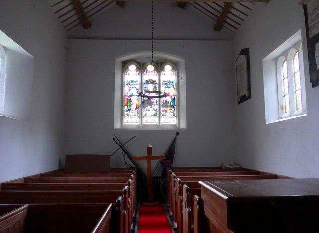 Inside Holy Trinity, Colton (VI)
