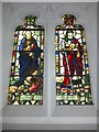 SD3186 : Holy Trinity, Colton: stained glass window (c) by Basher Eyre
