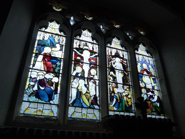 Holy Trinity, Colton: stained glass window (d)