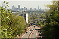 TQ2987 : View over London from Archway Bridge #4 by Robert Lamb