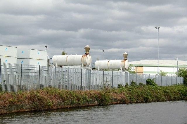 Electric generation units in Trafford Park