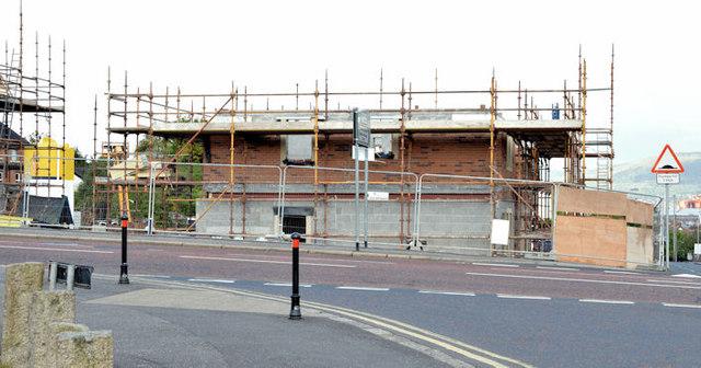 Holywood Road development site, Belfast - May 2015(3)