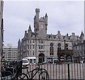 NJ9406 : Castlegate, Aberdeen by Stanley Howe