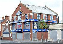 "J3674 : ""Sam's Yer Man"", Belfast - May 2015(1) by Albert Bridge"