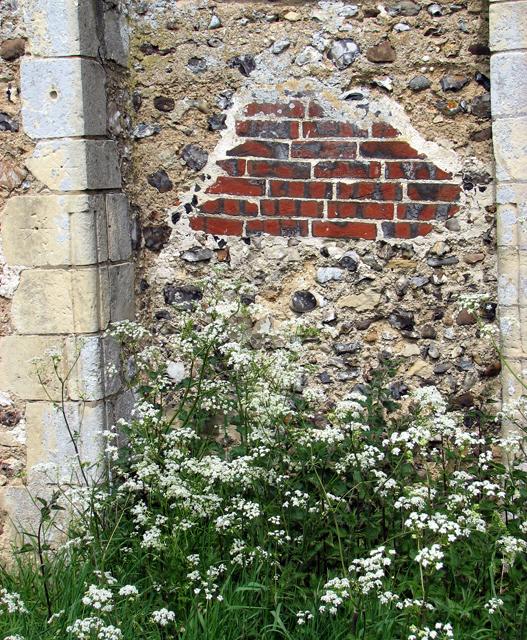 St Margaret's church in Hales (detail)