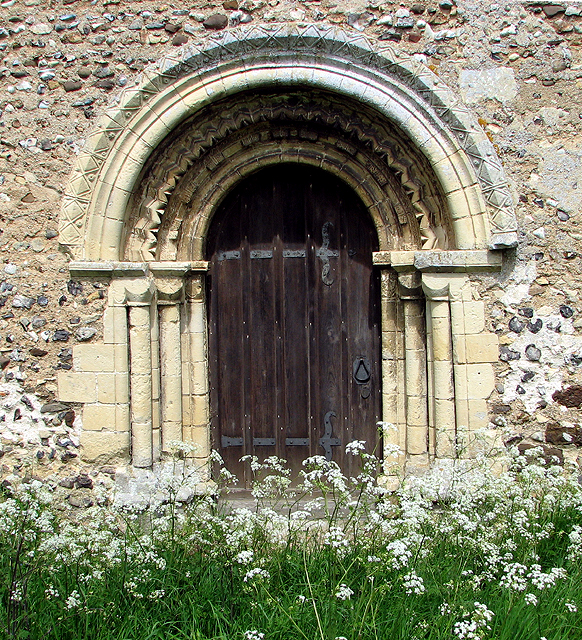 St Margaret's church in Hales