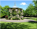 ST6316 : Pageant Gardens bandstand, Sherborne by Jaggery
