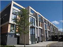 TQ3978 : Greenwich Square, block 4 by Stephen Craven