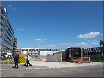 TQ3978 : Greenwich Square, site for block 3 by Stephen Craven
