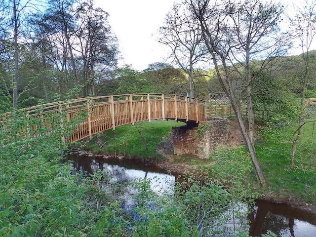 New Bridge over the Murk Esk