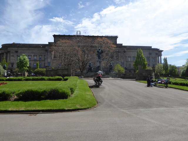 St George's Hall and St John's Gardens