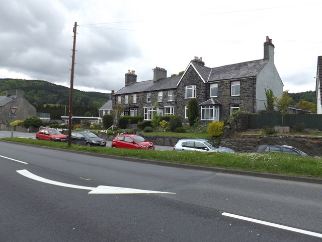 Dwellings just off A470