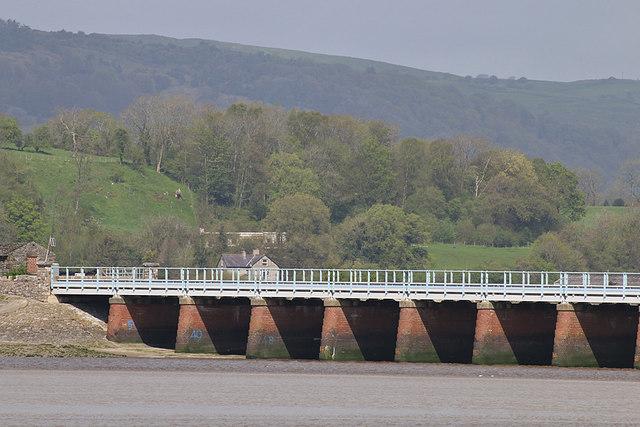 Kent Viaduct, western end