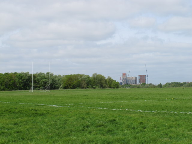 Gaelic Football pitch, Wormwood Scrubs