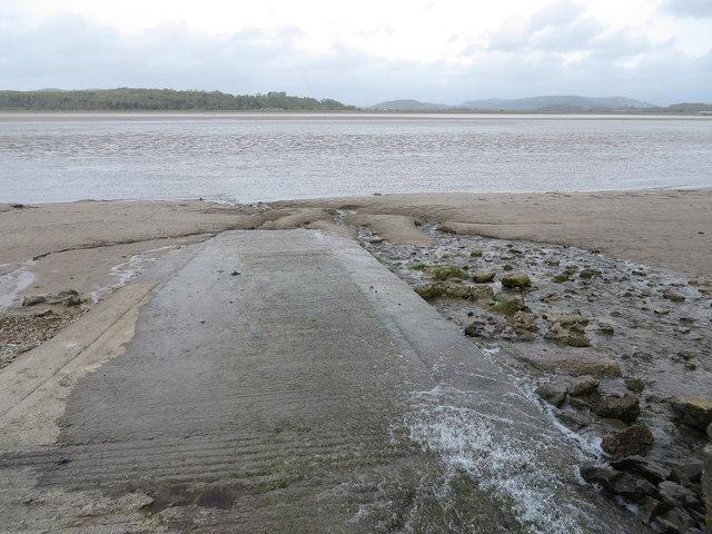 Slipway into the Kent estuary