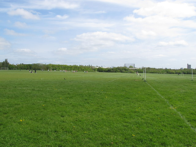 Football pitches, Wormwood Scrubs