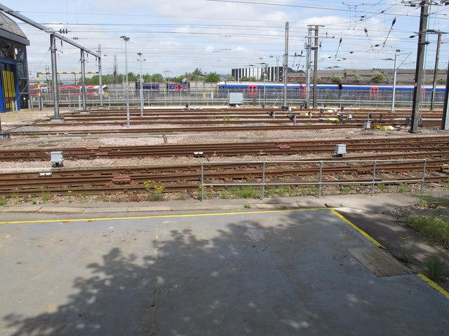 Old Oak sidings, former North Pole Depot