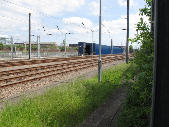 Long blue shed, Old Oak Common Sidings
