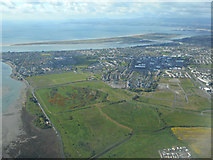 O2341 : Baldoyle from the air by Thomas Nugent