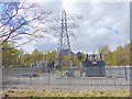 NH3957 : Electricity sub-station at the Luichart Hydro Power Station by Oliver Dixon