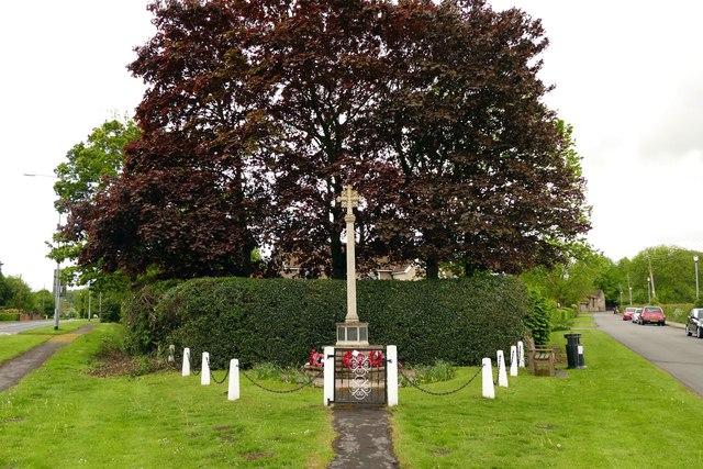 War memorial in South Carlton