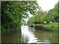 ST7766 : Narrows with a bench, Kennet & Avon Canal by Christine Johnstone
