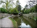 ST7565 : Mooring in Sydney Gardens, Bath by Christine Johnstone