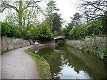 ST7565 : Mooring in Sydney Gardens, Bath by Christine Johnstone