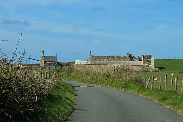 Road to south Walney