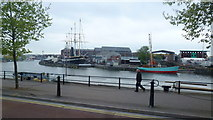 ST5772 : Towards the SS Great Britain by Jonathan Billinger