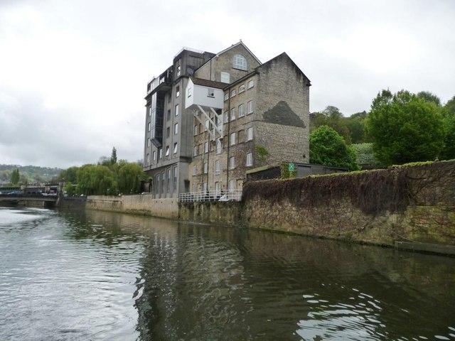 Converted warehouses, Lower Bristol Road, Bath