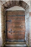 SO7937 : South door, St Gregory's church, Castlemorton by Bob Embleton