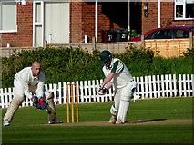 SO9095 : Club cricket in Penn, Wolverhampton by Roger  Kidd